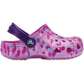 Crocs Classic Graphic Clogs Kids Carnation